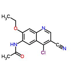 N-(4-Chloro-3-cyano-7-ethoxy-6-quinolinyl)acetamide