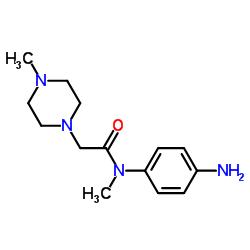 N-(4-aminophenyl)-N-methyl-2-(4-methylpiperazin-1-yl)acetamide