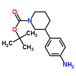 tert-Butyl (S)-3-(4-aminophenyl)piperidine-1-carboxylate
