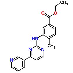 Ethyl 4-methyl-3-((4-(pyridin-3-yl)pyrimidin-2-yl)amino)benzoate