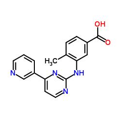 4-methyl-3-[(4-pyridin-3-ylpyrimidin-2-yl)amino]benzoic acid