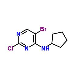 5-Bromo-2-chloro-N-cyclopentylpyrimidin-4-amine