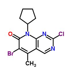 6-bromo-2-chloro-8-cyclopentyl-5-methylpyrido[2,3-d]pyrimidin-7-one