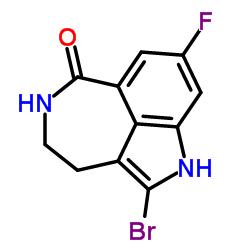 2-ブロモ-8-フルオロ-4,5-ジヒドロ-1H-アゼピノ[5,4,3-cd]インドール-6(3H)-オン
