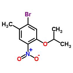 1-Bromo-5-isopropoxy-2-methyl-4-nitrobenzene