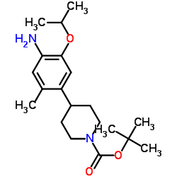 tert-butyl 4-(4-amino-5-isopropoxy-2-methylphenyl)piperidine-1-carboxylate