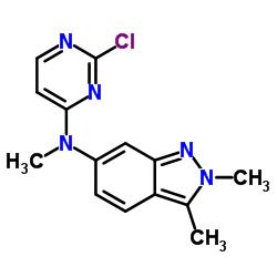 N-(2-Chloropyrimidin-4-yl)-N,2,3-trimethyl-2H-indazol-6-amine