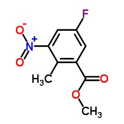 Methyl 5-fluoro-2-methyl-3-nitrobenzoate