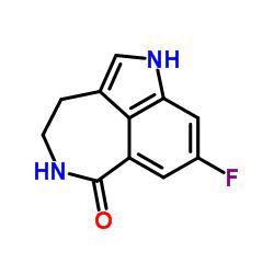 8-fluoro-1,3,4,5-tetrahydro-azepino[5,4,3-cd]indol-6-one