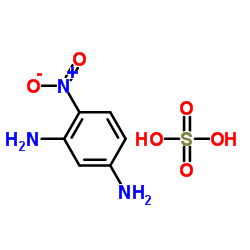 4-ニトロベンゼン-1,3-ジアミン、硫酸