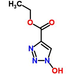 Ethyl 1-hydroxy-1H-1,2,3-triazole-4-carboxylate
