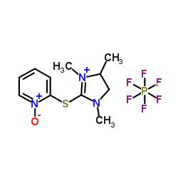 1-オキシド-2-[(1,3,4-トリメチル-4,5-ジヒドロイミダゾール-1-イウム-2-イル)スルファニル]ピリジン-1-イウム、ヘキサフルオロホスフェート