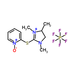 1-oxido-2-[(1,3,4-trimethyl-4,5-dihydroimidazol-1-ium-2-yl)sulfanyl]pyridin-1-ium,hexafluorophosphate