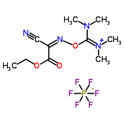6-Cyano-N,N,2-trimethyl-7-oxo-4,8-dioxa-2,5-diazadec-5-en-3-aminium hexafluorophosphate