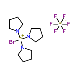 Bromotri(1-Pyrrolidinyl)Phosphonium Hexafluorophosphate