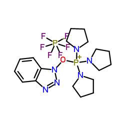 Benzotriazole-1-yl-oxytripyrrolidinophosphonium hexafluorophosphate