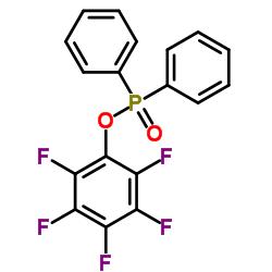1-diphenylphosphoryloxy-2,3,4,5,6-pentafluorobenzene