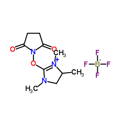 1-[(1,3,4-トリメチル-4,5-ジヒドロイミダゾール-1-イウム-2-イル)オキシ]ピロリジン-2,5-ジオン、テトラフルオロボレート