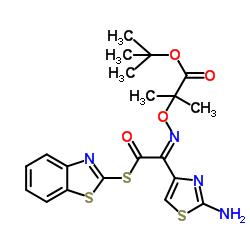 2-Mercaptobenzothiazolyl-(Z)-(2-aminothiazol-4-yl)-2-(tert-butoxycarbonyl) isopropoxyiminoacetate