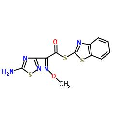 S-2-Benzothiazolyl (Z)-2-(5-amino-1,2,4-thladlazol-3-yl)-2-MethoxylMino thioacetate