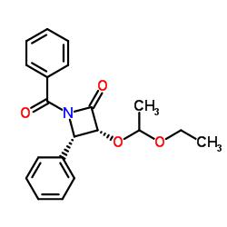 (3R,4S)-1-Benzoyl-3-(1-ethoxyethoxy)-4-phenyl-2-azetidinone
