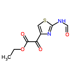 Ethyl 2-(2-formylaminothiazol-4-yl) glyoxylate