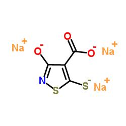 3-oxo-5-sulfanyl-1,2-thiazole-4-carboxylic acid,sodium