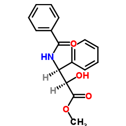 methyl (2R,3S)-3-benzamido-2-hydroxy-3-phenylpropanoate