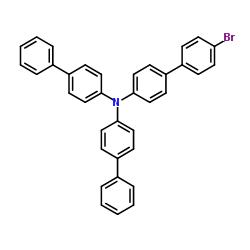 N-[4-(4-bromophenyl)phenyl]-4-phenyl-N-(4-phenylphenyl)aniline