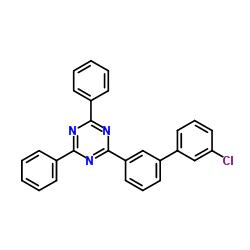 2-(3'-Chloro[1,1'-biphenyl]-3-yl)-4,6-diphenyl-1,3,5-triazine