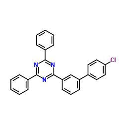 2-(4'-Chloro[1,1'-biphenyl]-3-yl)-4,6-diphenyl-1,3,5-triazine