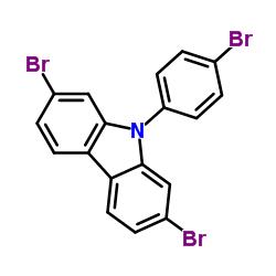 2,7-ジブロモ-9-(4-ブロモフェニル)-9H-カルバゾール