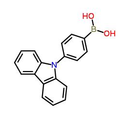 (4-(9H-Carbazol-9-yl)phenyl)boronic acid