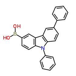 6,9-Diphenyl-9H-carbazol-3-yl-3-boronic acid