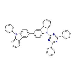 9-(4,6-diphenyl-1,3,5-triazin-2-yl)-9'-phenyl-3,3'-bicarbazole