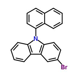 3-bromo-9-naphthalen-1-ylcarbazole