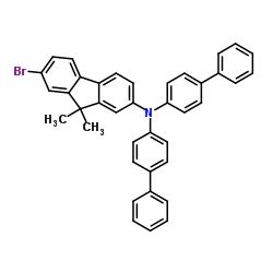 N、N-ジ([1,1'-ビフェニル] -4-イル)-7-ブロモ-9,9-ジメチル-9H-フルオレン-2-アミン
