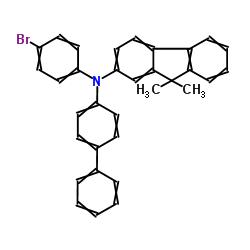 N-([1,1'-ビフェニル] -4-イル)-N-(4-ブロモフェニル)-9,9-ジメチル-9H-フルオレン-2-アミン