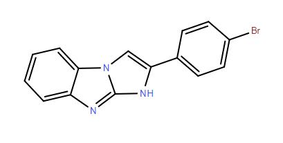 2-(4-bromo-phenyl)-1(9)H-benzo[d]imidazo[1,2-a]imidazole