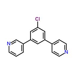 ピリジン、3-3- [3-クロロ-5-(4-ピリジニル)フェニル