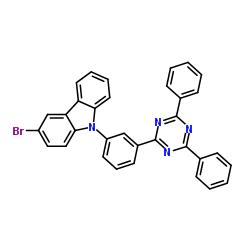 3-bromo-9-[3-(4,6-diphenyl-1,3,5-triazin-2-yl)phenyl]-9H-Carbazole