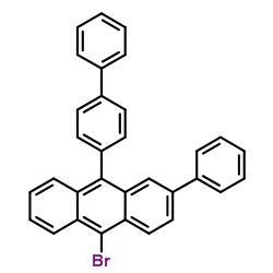 10-bromo-2-phenyl-9-(4-phenylphenyl)anthracene