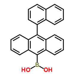 (10-(Naphthalen-1-yl)anthracen-9-yl)boronic acid