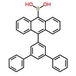 (10-([1,1':3',1''-terphenyl]-5'-yl)anthracen-9-yl)boronic acid