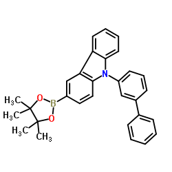 9-([1,1'-biphenyl]-3-yl)-3-(4,4,5,5-tetramethyl-1,3,2-dioxaborolan-2-yl)-9H-carbazole