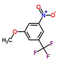1-methoxy-3-nitro-5-(trifluoromethyl)benzene