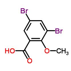 3,5-Dibromo-2-methoxybenzenecarboxylic acid