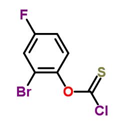 2-bromo-4-fluorophenyl chlorothioformate
