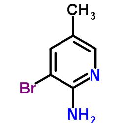 2-Amino-3-bromo-5-methylpyridine