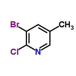 3-Bromo-2-chloro-5-methylpyridine